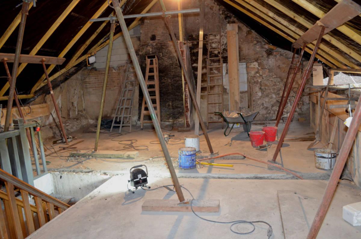 refaire toiture charpente et isolation suite 224 incendie