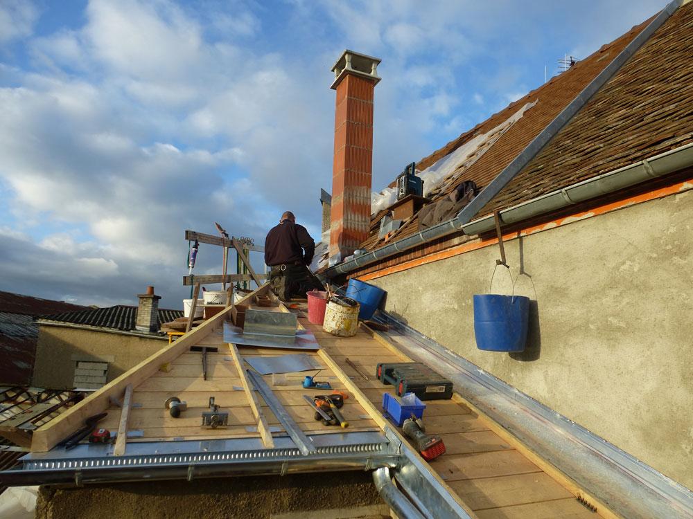 r233novation toiture et isolation des combles charpente