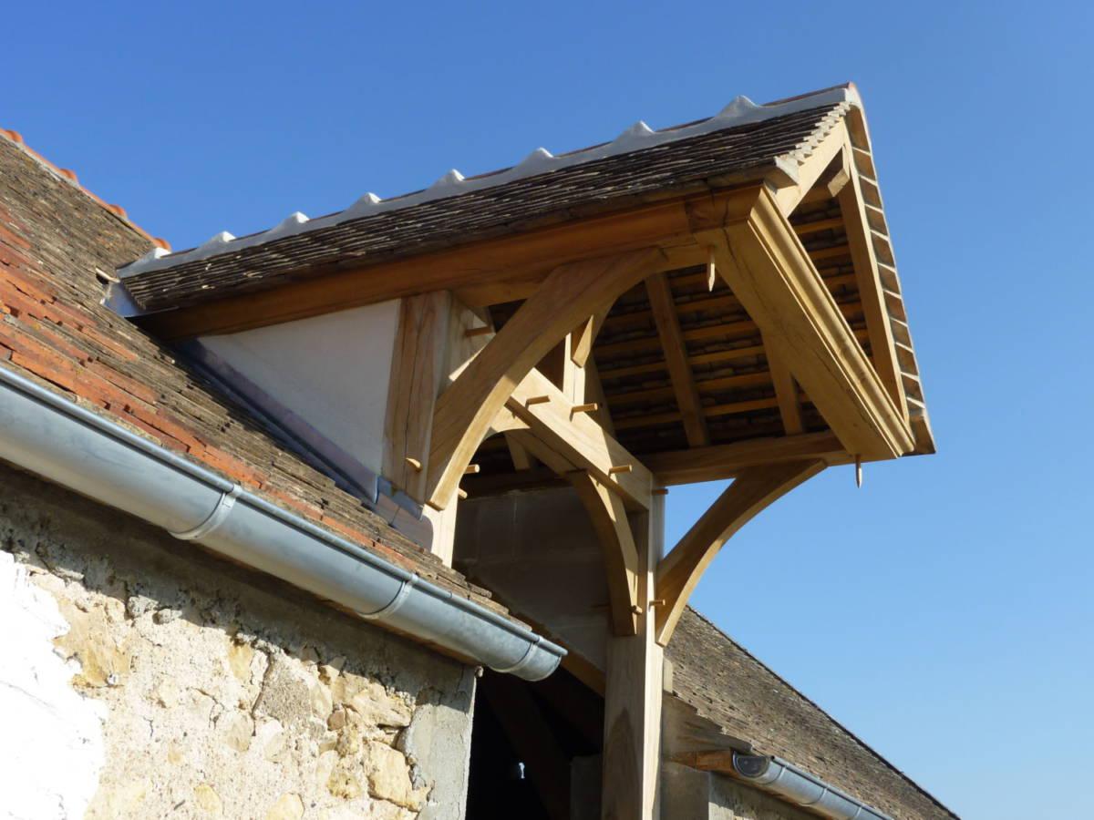 Cr ation lucarne dans toiture existante sens 89 for Type de lucarne de toit