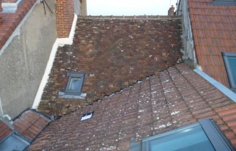 renovation toiture (avant en petites tuiles)