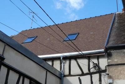 Rénovation couverture centre ville Sens