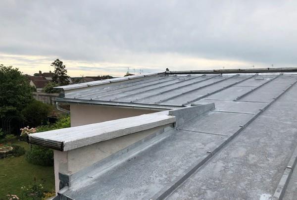 renovation toiture en zinc