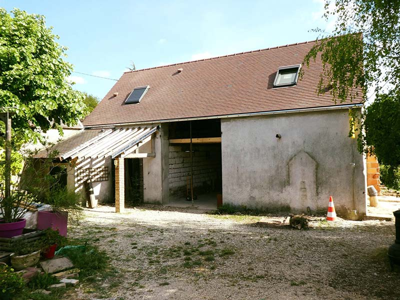 toiture rénovation Grange à Sens